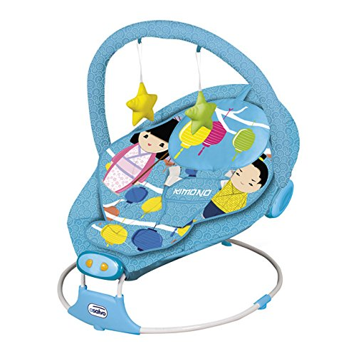 Asalvo Excellent - Hamaca para bebés Excellent, diseño kimono, color azul 11796