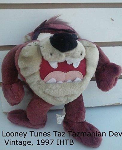 Tazmanian Devil Plush - Tornado Taz Tazmanian Devil