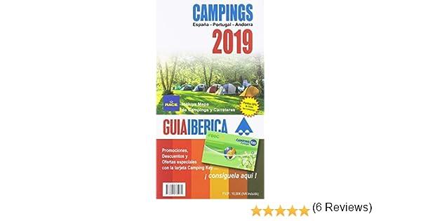 Guía Ibérica Campings 2019 España - Portugal - Andorra: Amazon.es ...