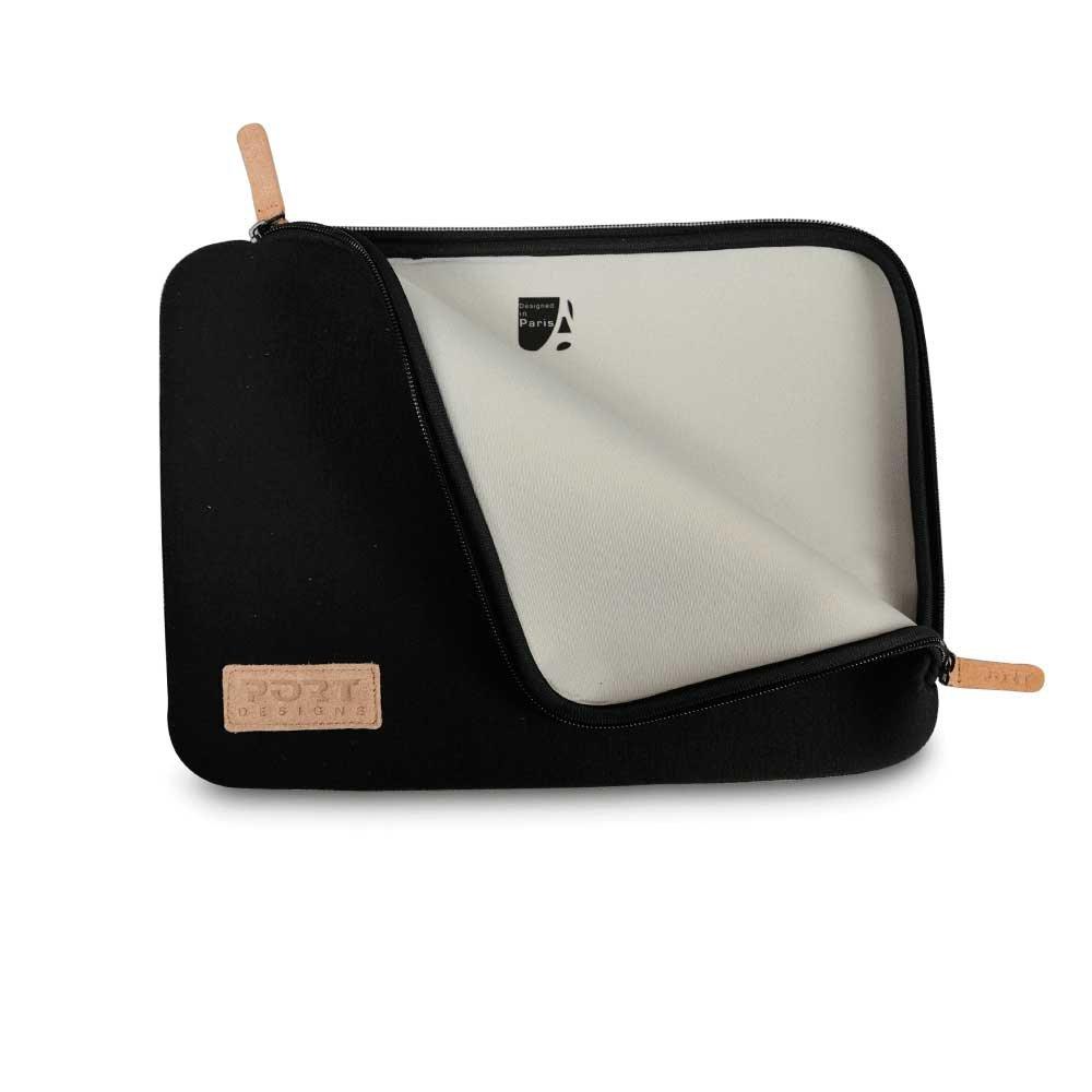 Sacoche pour ordinateur portable Port Housse Torino sleeve universelle grise pour ordinateur portable 12,5