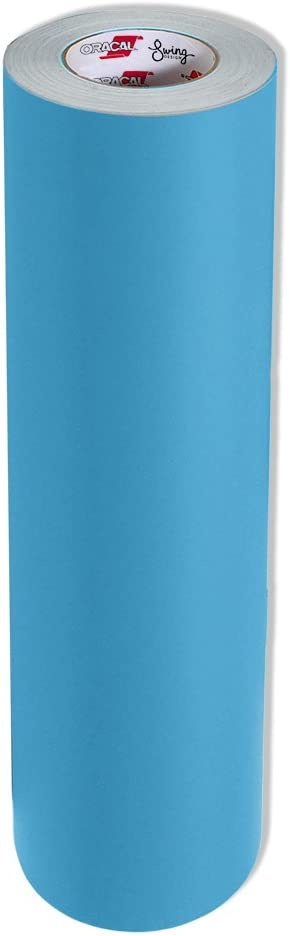 "Oracal Oramask 813 Stencil Film Roll, 12"" x20' , Light Blue: Arts, Crafts & Sewing"