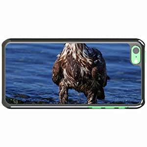 iPhone 5C Black Hardshell Case predator rocks sea beach Desin Images Protector Back Cover