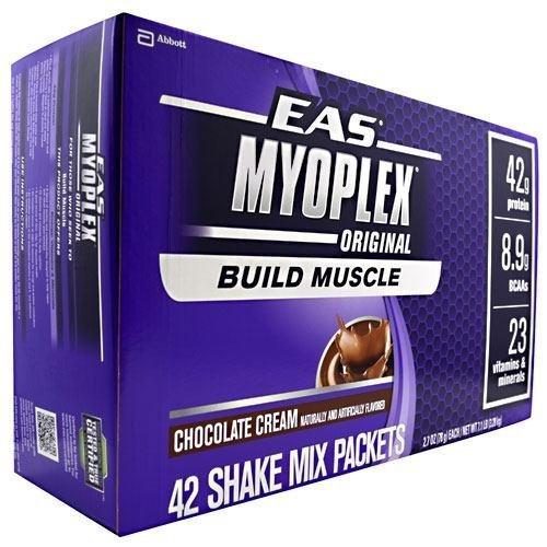 EAS Myoplex Original Drink Mix -- Vanilla Cream -- 20 Packets
