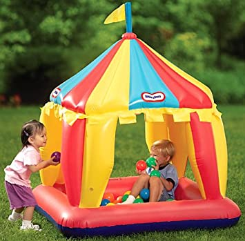 Little Tikes Carnival Tent Play Center  sc 1 st  Amazon.com & Amazon.com: Little Tikes: Carnival Tent Play Center: Toys u0026 Games
