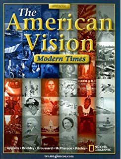 Amazon the american vision 9780078799846 joyce appleby alan the american vision modern times fandeluxe Choice Image