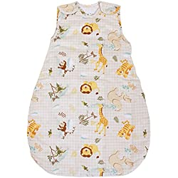 Baby Sleeping Bag with Animal Pattern, 2.5 Tog's Winter Model