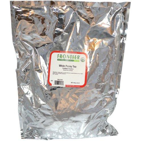 Frontier Bulk White Peony Tea, CERTIFIED ORGANIC, 1 lb. ()