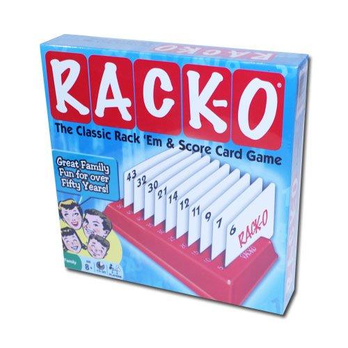 Rack-O Card Game