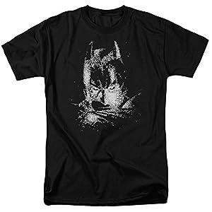 Trevco Men's Dark Knight Batman Bat Head Short Sleeve Adult T-Shirt at Gotham City Store