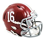 NCAA Alabama Crimson Tide Speed Mini Replica Helmet, Red, Small