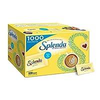 Splenda - Paquete de valor de edulcorante sin calorías - 1000 unidades - Sustituto de azúcar para usar con café, té, frutas, cereales y más