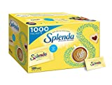 Splenda No Calorie Sweetener Value Pack,Sugar Substitute for Use with Coffee, Tea, Fruit, Cereal, and More, 1000 Count