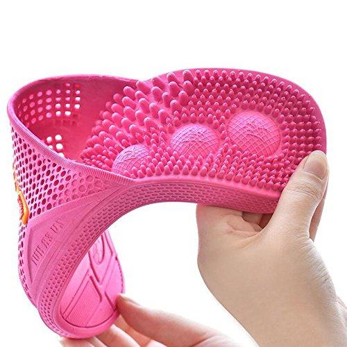 Cosycorn Antiscivolo sapphire Jia Casa Ciottoli Di Home 40 Massaggio Per Pantofola Suola Hong 37 Red xPfwPUIzq