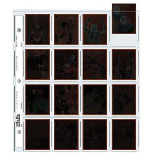 Print File 120 Size Negative Pages Holds Sixteen 6x4.5 Frames, Pack of 100