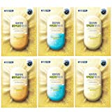 FRIENVITA KOREA Face Mask Sheet 24K Gold Vitamin's Perfect Balance Mask (24K Gold Glow Mask Aqua/White/Firming 6pcs)