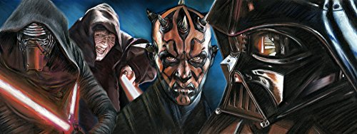 Star Wars - Sith Lords Handmade Pastel Painting Poster High-quality Photo Paper Size 15