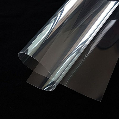 """HOHO 60"""" x33ft Wholesale Transparent Self-adhesive Window Film Shtterproof Clear Safety and Security Glass film. UV Protection"""