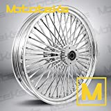 21X3.5 Fat Spoke Tubeless Wheel for Harley Touring Bagger fits 00-18 models