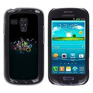 A-type Arte & diseño plástico duro Fundas Cover Cubre Hard Case Cover para Samsung Galaxy S3 MINI 8190 (Big Bang Mini)