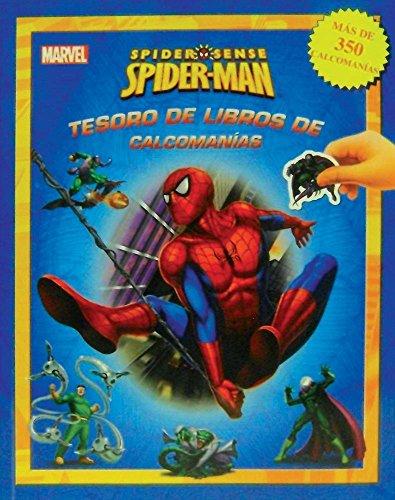 Price comparison product image TESORO DE LIBROS DE CALCOMANIAS: MARVEL SPIDERMAN