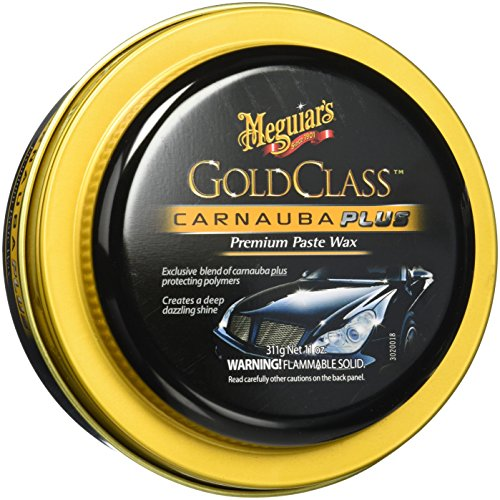 Meguiar's Gold Class Carnauba Plus Premium Paste Wax – Creates a Deep Dazzling Shine – G7014J, 11 oz (Turtle Wax Car Polish)