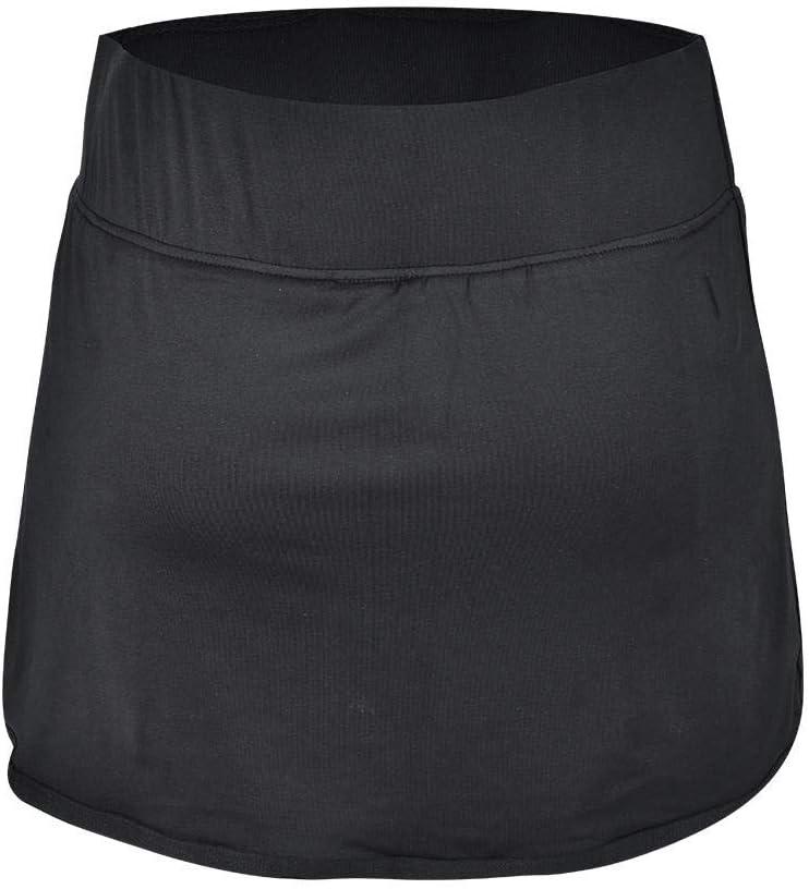 Keenso Sports Jupes Shorts Pantalons de Yoga pour Gymnase en Polyester et Spandex V/êtements de Fitness pour Femmes