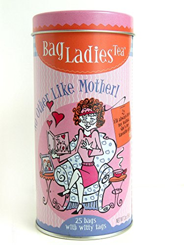 Bag Ladies Tea No Other Like Mother Tea Tin, 25 Teabags of...