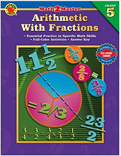 Download online Math 2 Master Arithmetic with Fractions, Grade 5 (Brighter Child: Math 2 Master) PDF, azw (Kindle), ePub, doc, mobi