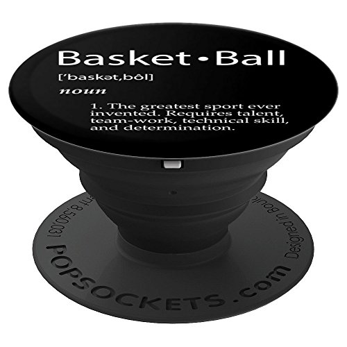 Basketball Definition Basketball Player Gift For Teams Coach - PopSockets Grip and Stand for Phones and Tablets