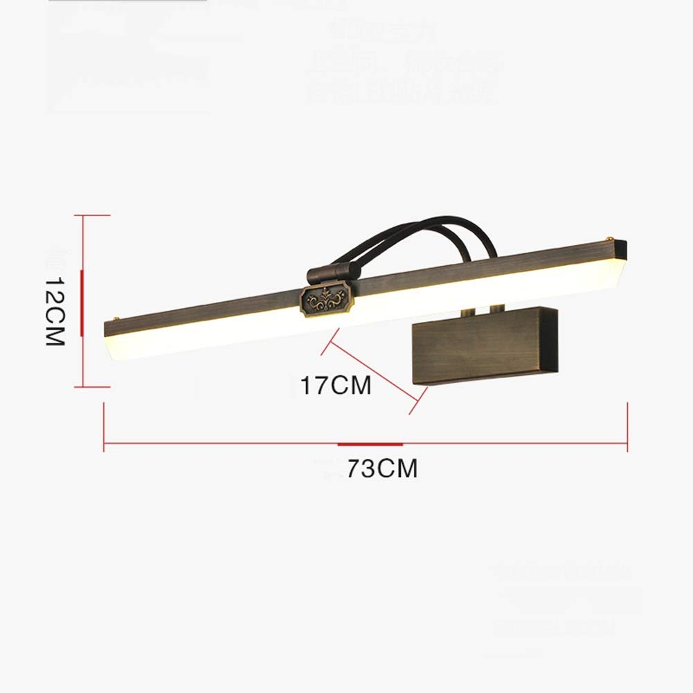 HARDY-YI ミラーフロントライト - : すべての銅ミラーヘッドライトバスルームバスルームミラーキャビネットライト化粧ランプミラーヘッドライト - (サイズ さいず HARDY-YI : Small) B07QPHLQKW Large Large, カー用品通販ショップ VS-ONE:2b50356d --- harrow-unison.org.uk