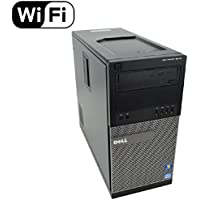 Dell OptiPlex 9010 Tower - Intel Quad Core i7-3770 up to 3.9GHz, 16GB RAM DDR3, *NEW* 256GB SSD with 4.5 Year Warranty on SSD, Windows 10 Pro 64-Bit, WiFi - REFURBISHED Desktop