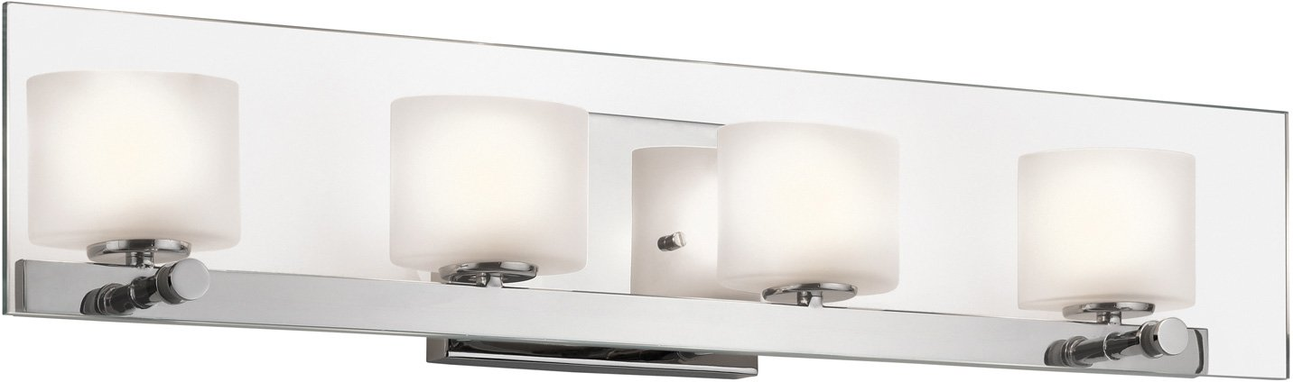 Kichler 45173CH Como Bath 4-Light Halogen, Chrome