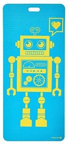 MERRITHEW Kids Yoga and Exercise Mat, Pixel the Robot  0.15