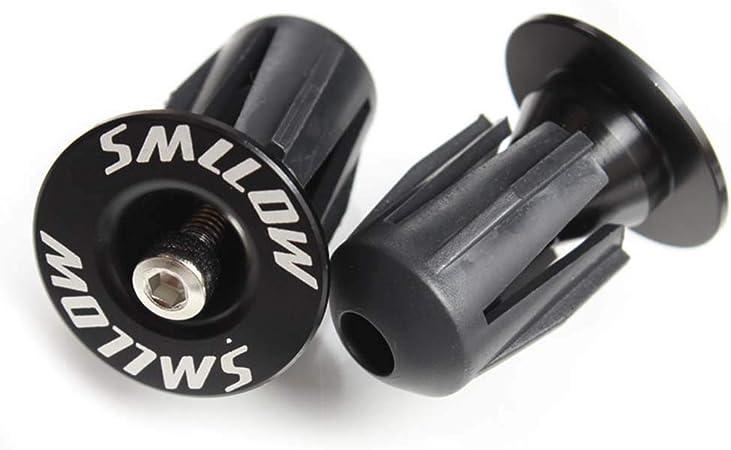 2Pcs Bike Handlebar End Caps Plugs Aluminium Alloy For Mountain Bicycle UK