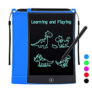 Tesoky Toys for Kids 3-10, Kids Writing Tablet for Kids with LCD Screen Learing Toys Stocking Stuffers for Boys Girls Age 3-8 Christmas Xmas Present for Boys Girls Kids Age 3-8 (Blue)