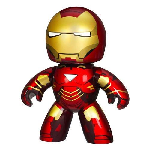 Hasbro Iron Man 2 Movie Mighty Muggs Exclusive Figure Iron Man Mark -