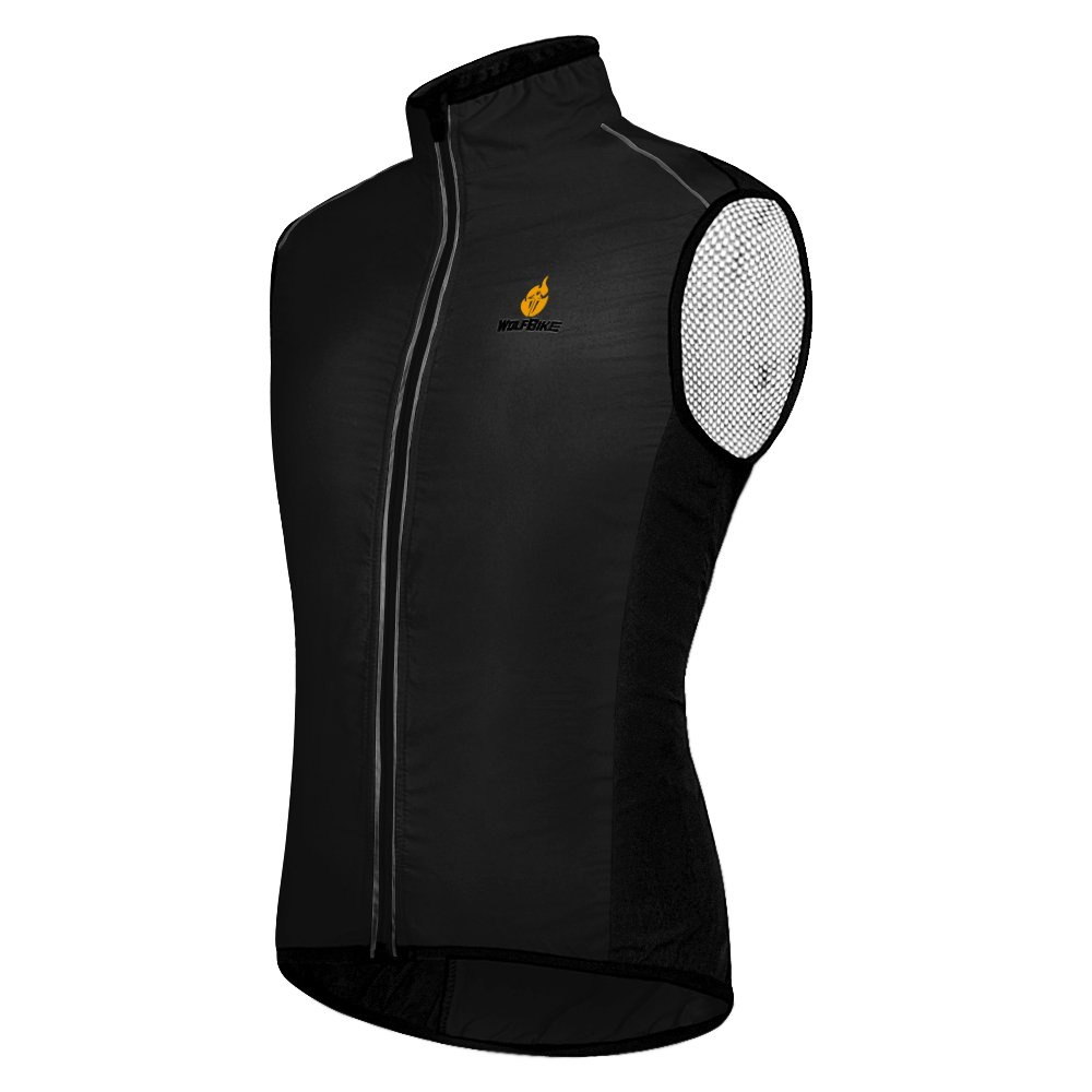 Amazon.com   Hysenm Tour De France Polyester Windproof Breathable Reflective  Cycling MTB Vest Sleeveless   Sports   Outdoors f1e23108b