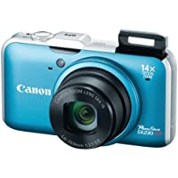 Canon PowerShot SX230 HS 12.1 MP CMOS Digital Camera with...