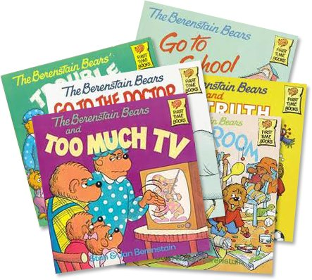The Berenstain Bears Collection (12): The Berenstain Bears and Too Much Junk Food; the Berenstain Bears Learn About Strangers; Berenstain Bears & the Bully; Berenstain Bears Moving Day; Berenstain Bears Dollars and Sense; No Girls Allowed (An Unofficial Box Set :The Berenstain Bears Bad Dream - Think of Those in Need - Easter - Trouble At School) pdf epub