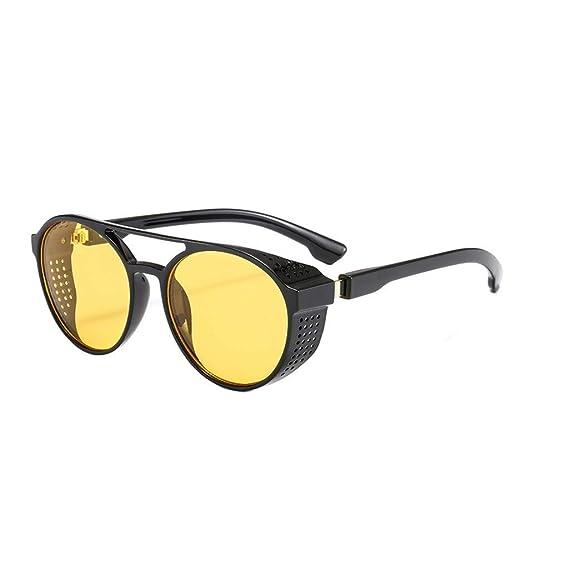 Pequena Redondo Reflejado Reflexivo Lentes Polarizadas Gafas ...