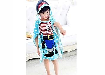 Toalla de Playa para Niños – Toalla de Cambio de Toalla Poncho/Dry Robe –