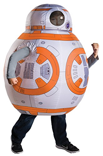[Rubie's Costume Star Wars Episode VII: The Force Awakens Deluxe BB-8 Inflatable Costume] (Inflatable Costume Party City)
