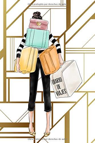 Diario De Viajes: Libreta Para Planear Viaje Para Mujer Diario de Apuntes