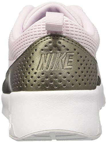 Nike Women's Air Max Thea Running Shoes, Blue Azul (Bleached Lilac / Bleached Lilac)