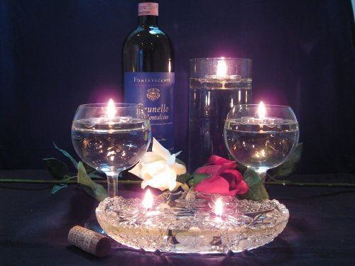 amazon com water candles romantic floating water candles rh amazon com