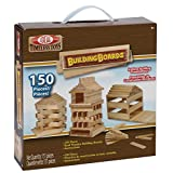 Ideal Building Boards Wooden Construction Set, 150-Pieces
