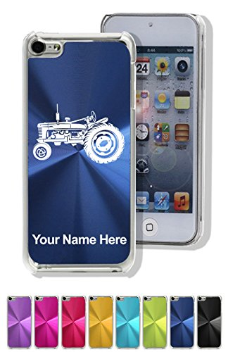 Case For Iphone 5C - Old Farm Tractor - Personalized Engraving Included