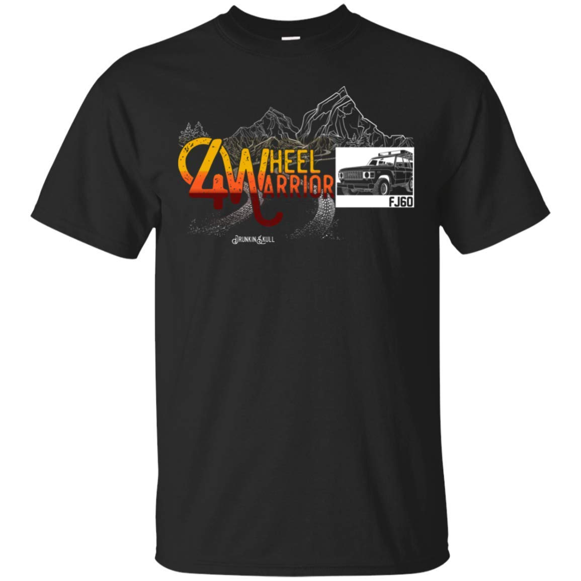 FJ60 Toyota Land Cruiser 4 Wheel Warrior T-Shirt