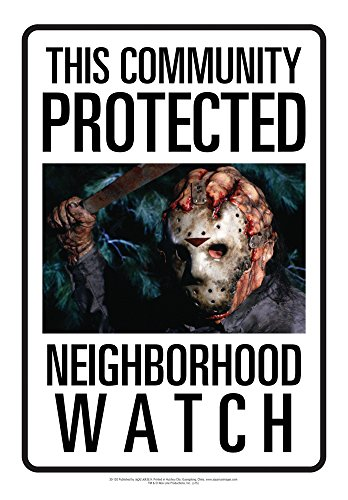 (Aquarius Friday The 13th Jason Neighborhood Watch Tin)