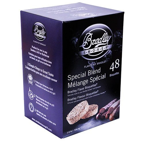 BRADLEY SMOKERS Special Blend Bisquettes (Case of 48) -